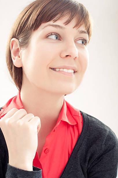 Porträt einer schönen Mädchen – Foto