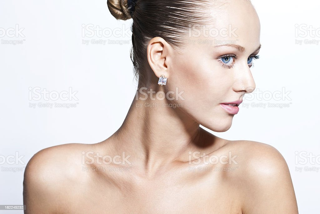 Portrait of a beautiful lady: Miss Sophistication royalty-free stock photo