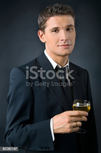 istock Portrait of a beautiful man 92282197