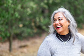 istock Portrait of a beautiful senior Mexican Woman 1027455834