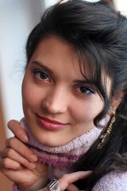 porträt einer schönen sexy girl. - türkise haare stock-fotos und bilder