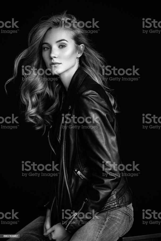 Portrait of a beautiful woman стоковое фото