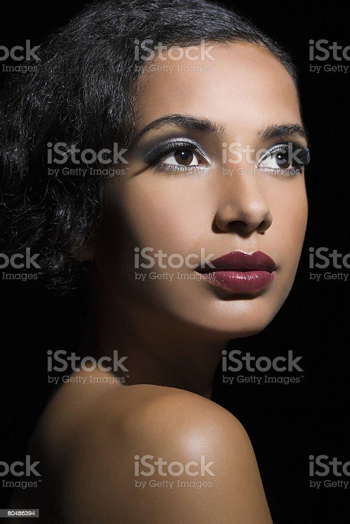 아름다운 여성 인물 royalty-free 스톡 사진