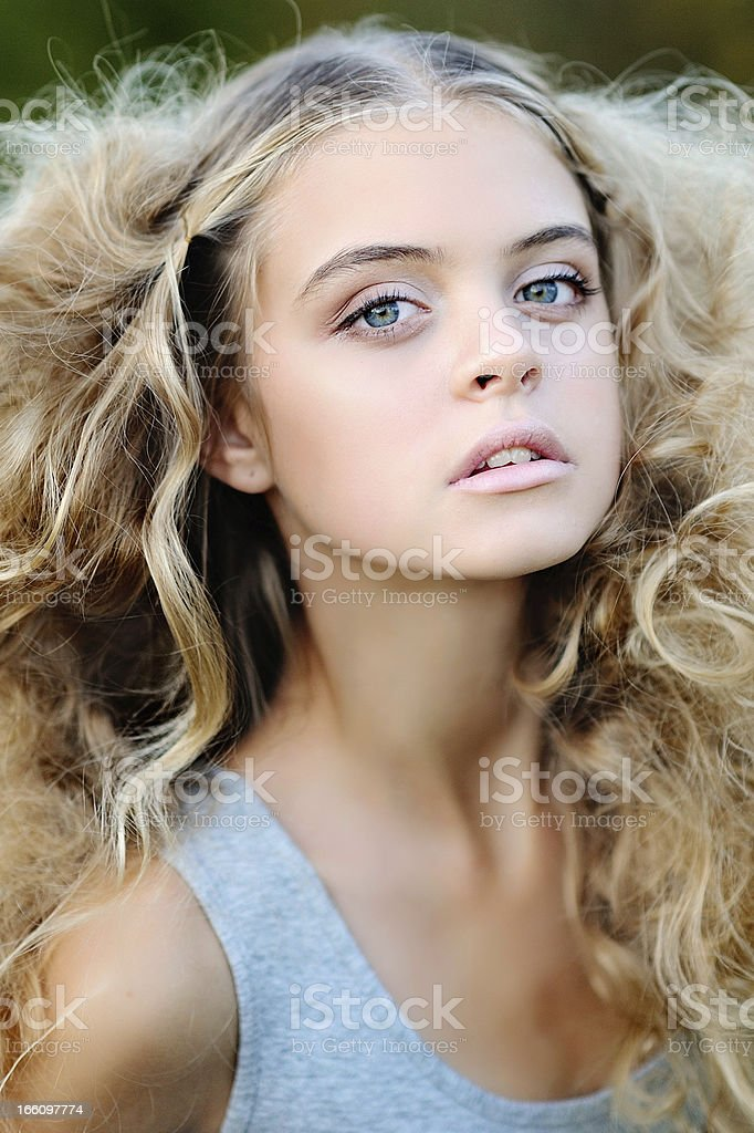 portrait of a Beauty girl royalty-free stock photo
