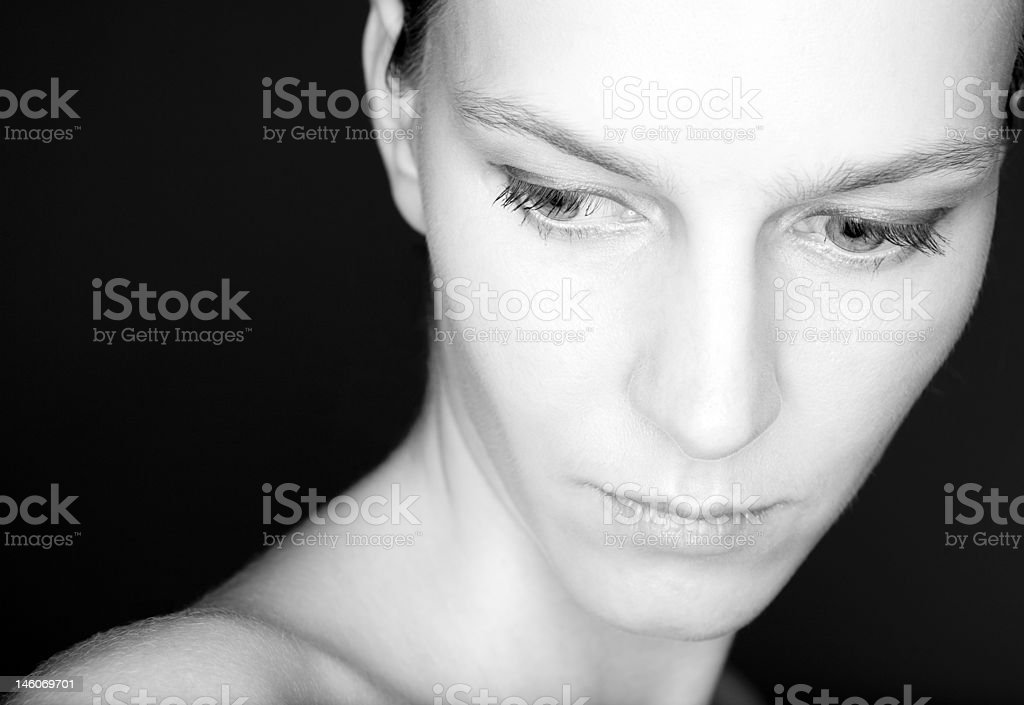 Portrait of a Beauty royalty-free stock photo