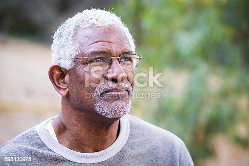 626367626istockphoto Portrait of a Black Man 898430978