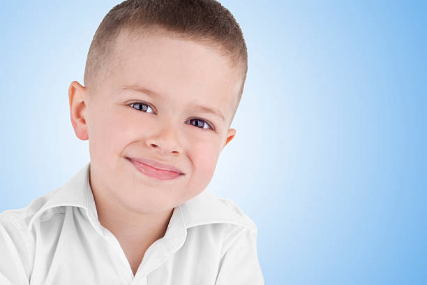 portrait of a boy - lepro stock pictures, royalty-free photos & images