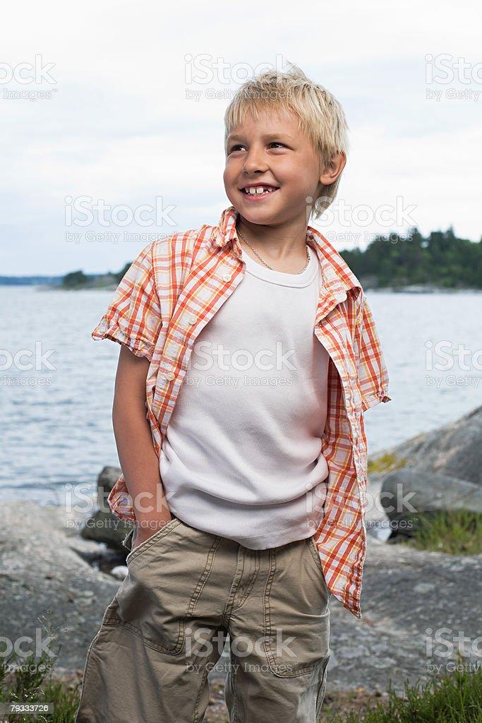 Portrait of a boy 免版稅 stock photo
