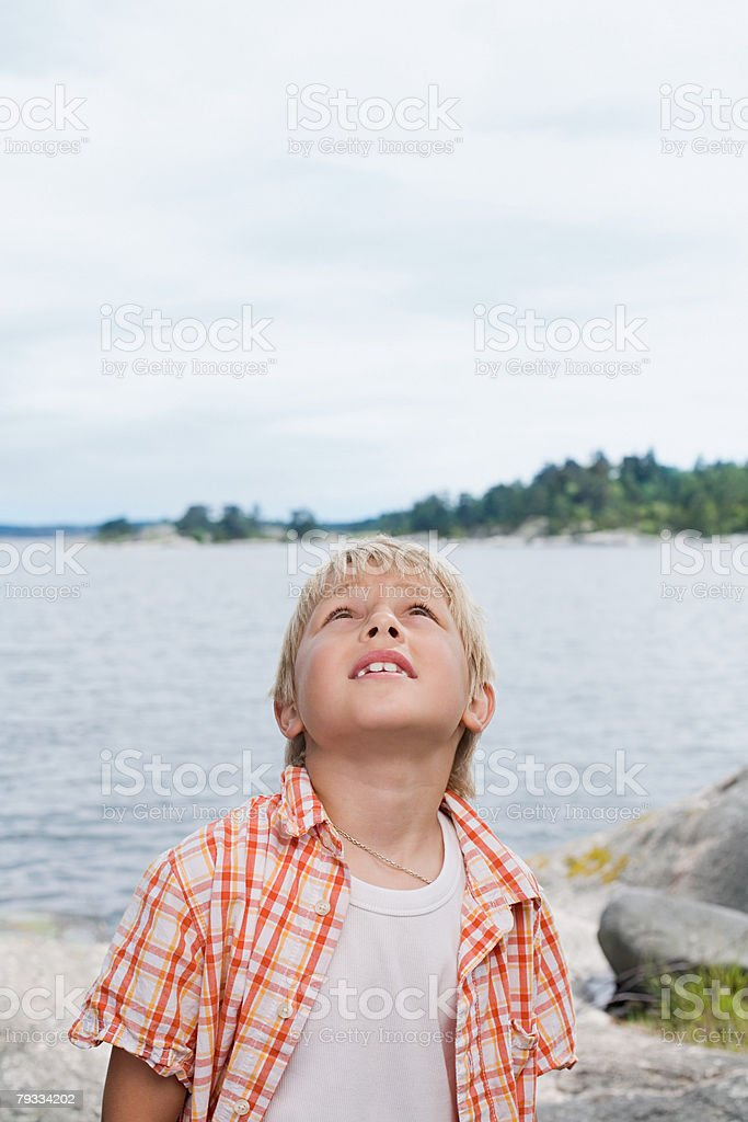 Portrait of a boy royalty-free stock photo