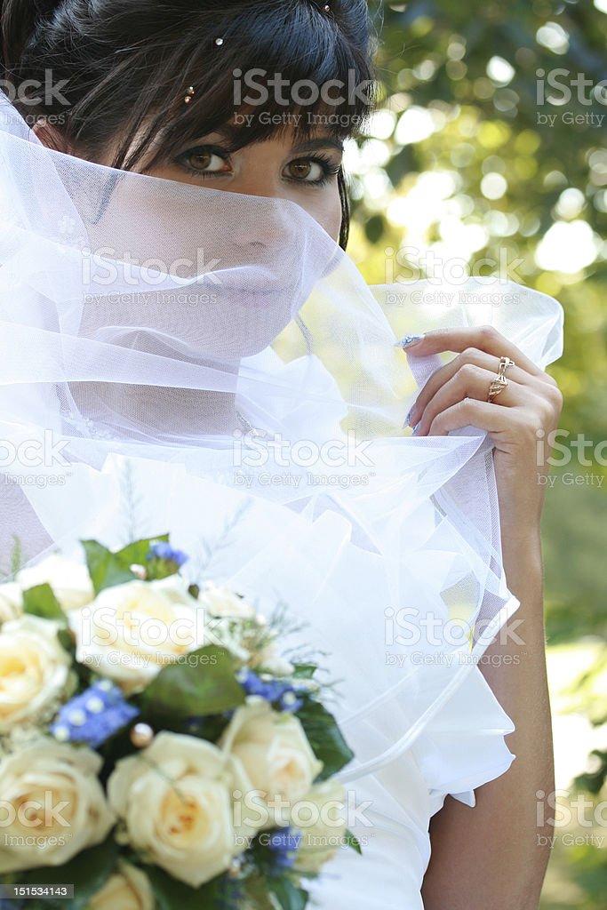 Porträt einer Braut – Foto