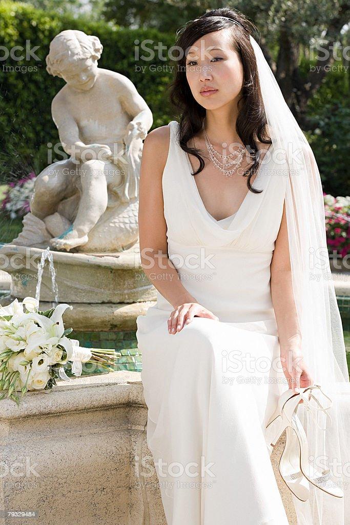 Portrait of a bride 免版稅 stock photo