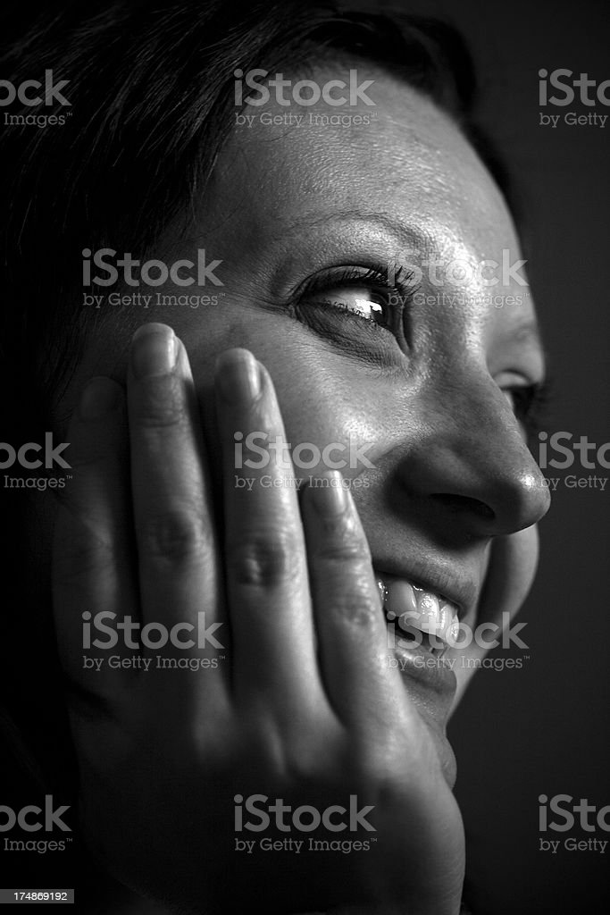 Portrait of a Bulgarian woman royalty-free stock photo