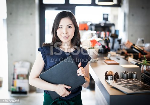 istock Portrait of a business owner in a restaurant 479726046