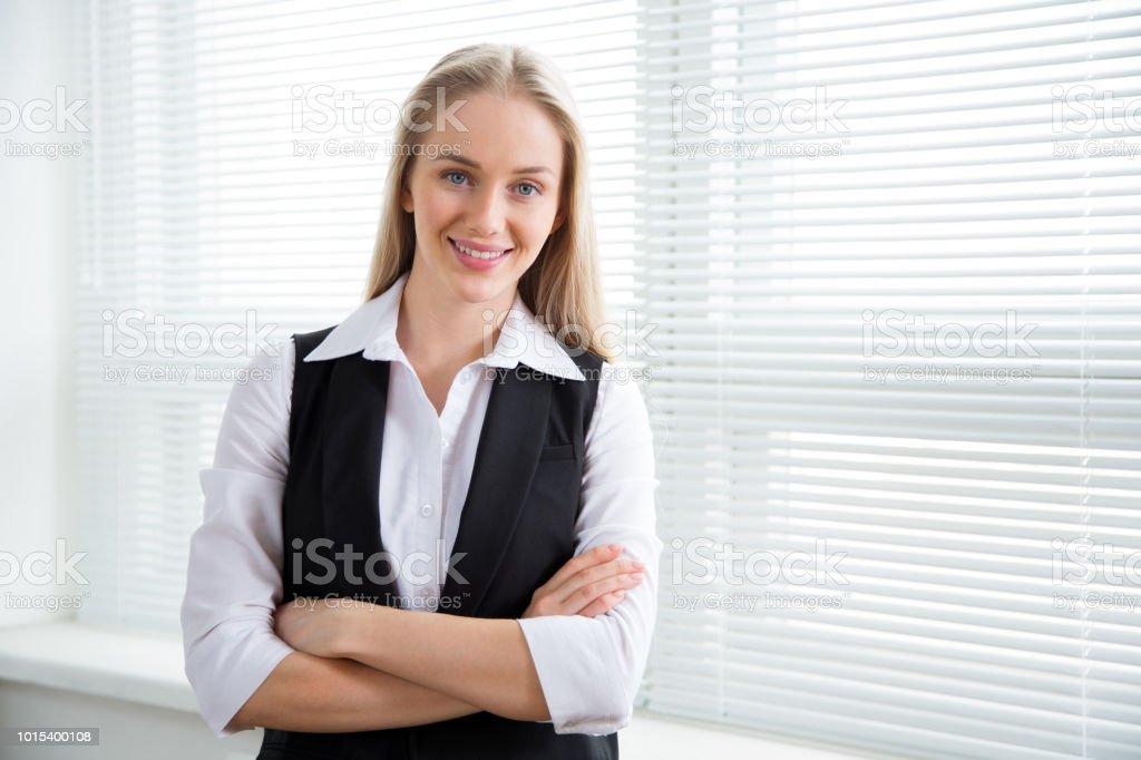 Porträt einer business-Frau. – Foto