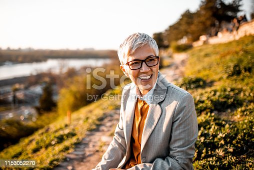 1044149594 istock photo Portrait of a business woman. 1153052270