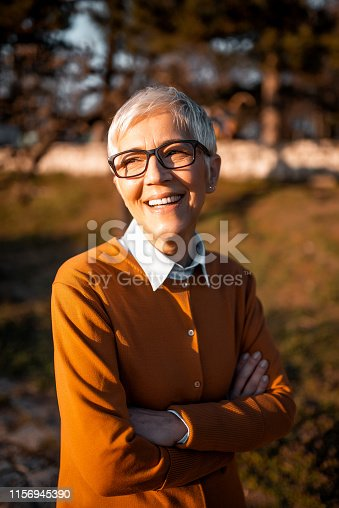 1044149594 istock photo Portrait of a business woman. 1156945390
