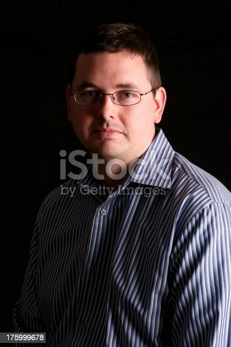 istock Portrait of a businessman. 1 175999678