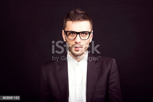 951331990 istock photo Portrait of a businessman 503591152