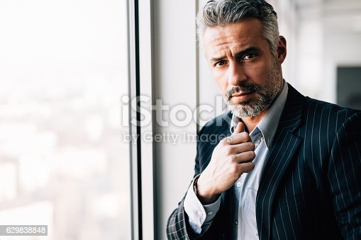 istock Portrait Of A Businessman 629838848