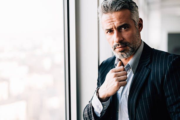 portrait of a businessman - handsome people stock photos and pictures