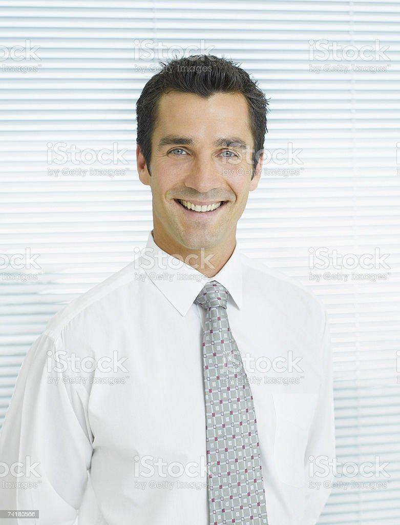 Retrato de um Empresário foto de stock royalty-free