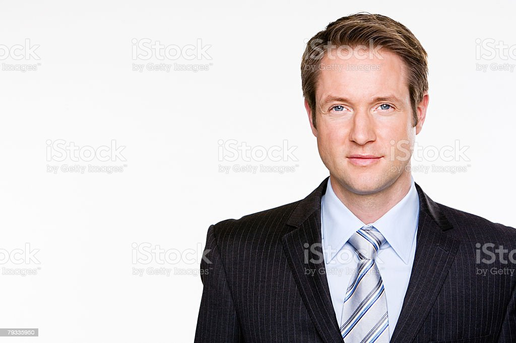 Portrait of a businessman 免版稅 stock photo
