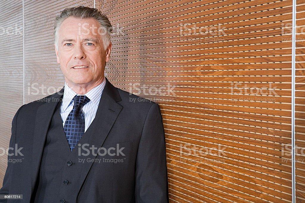 Portrait of a businessman 免版稅 stock photo