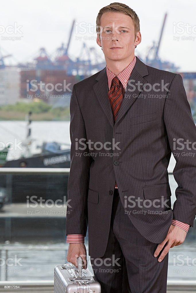 ビジネスマンのポートレート ロイヤリティフリーストックフォト