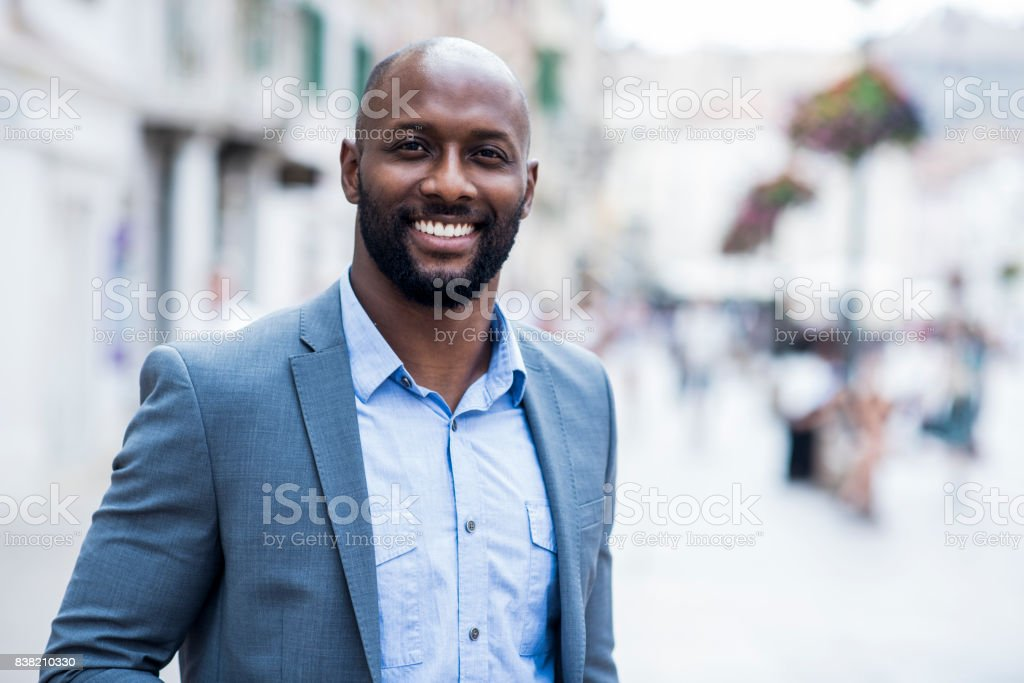 Porträt eines Geschäftsmann  – Foto