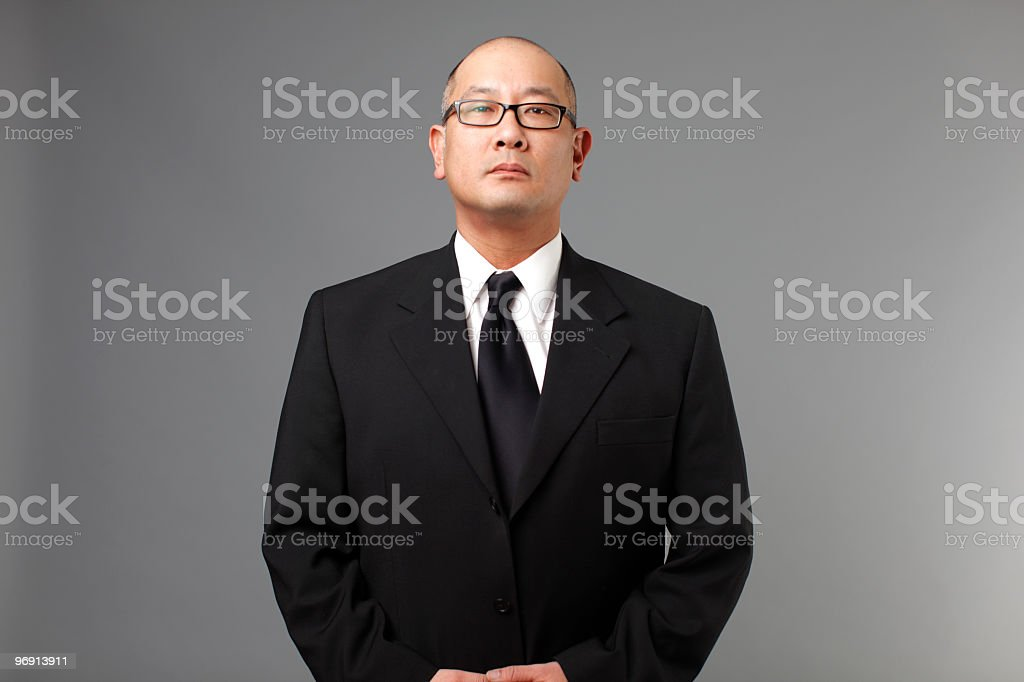 Portrait of a businessman. royalty-free stock photo
