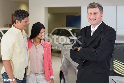 1138561232 istock photo Portrait of a businessman smiling at camera 468593634