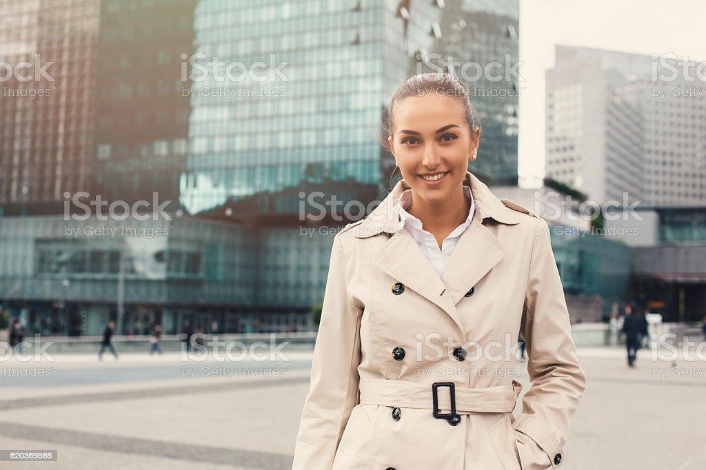 Portret z Biznesmenka zbiór zdjęć royalty-free