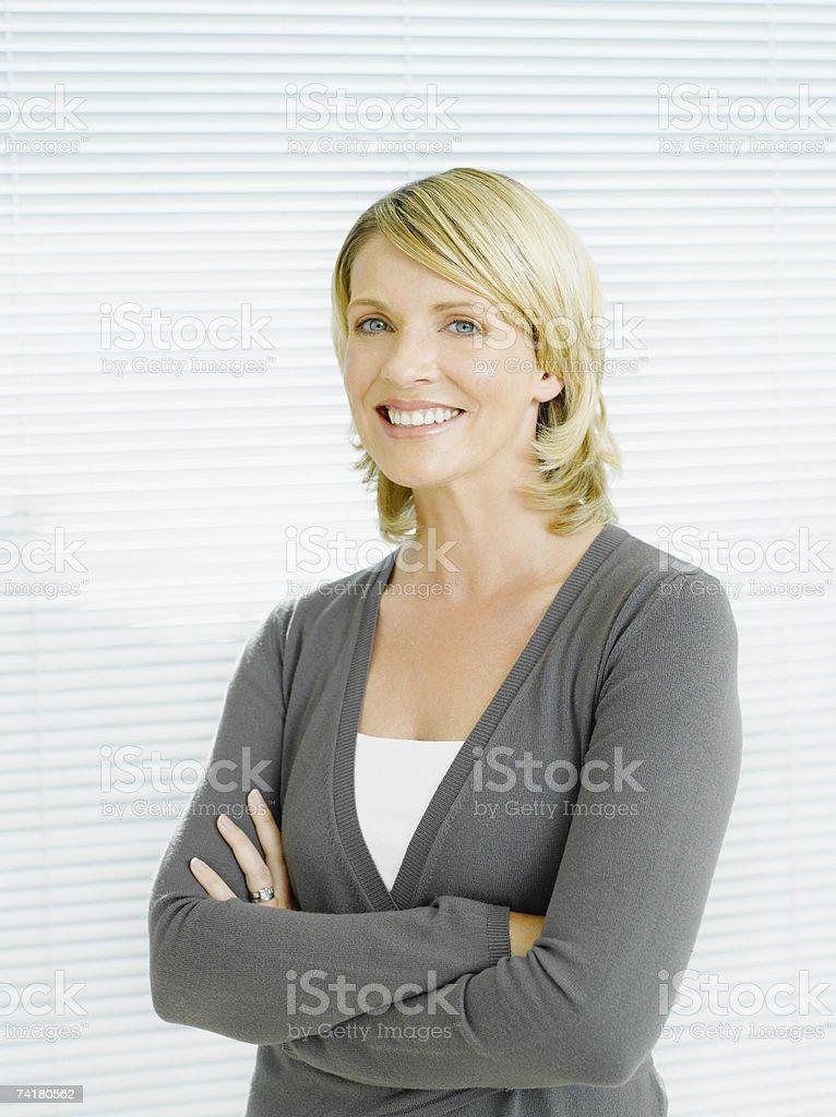 Retrato de uma mulher de Negócios foto de stock royalty-free