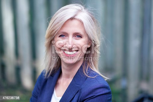 istock Portrait Of A Businesswoman Smiling At The Camera 476238738