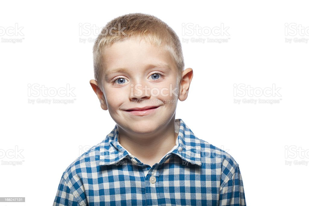 Portrait of a child stock photo