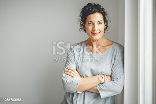 istock Portrait of a confident businesswoman 1038703968