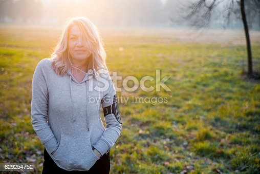 851958232istockphoto Portrait of a confident sports mature woman smiling outdoors 629254752