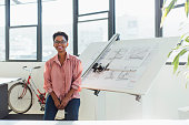 istock Portrait of a Confident Young Architect in a Modern Office 1251518064