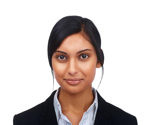 Porträt von überzeugt junge Geschäftsfrau – Foto
