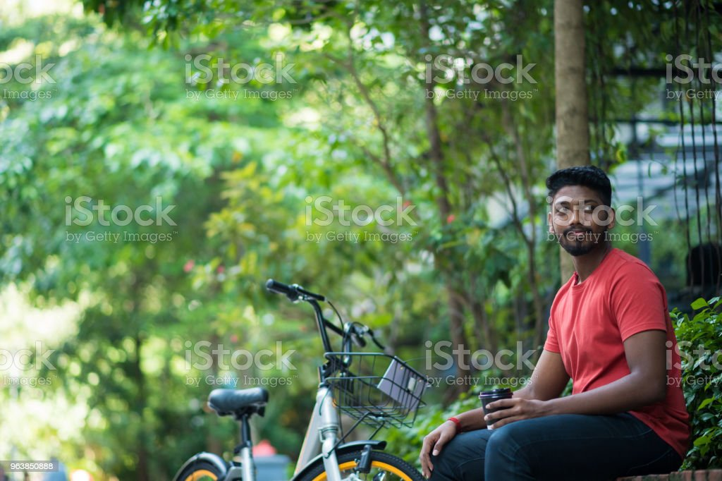 Portrait of a confident young Indian male - Royalty-free 20-24 Years Stock Photo