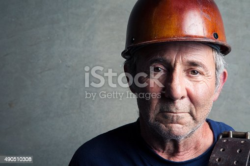 istock Portrait of a Construction Worker 490510308