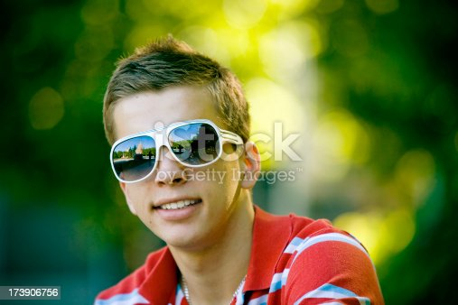 492529287istockphoto Portrait of a content young guy 173906756