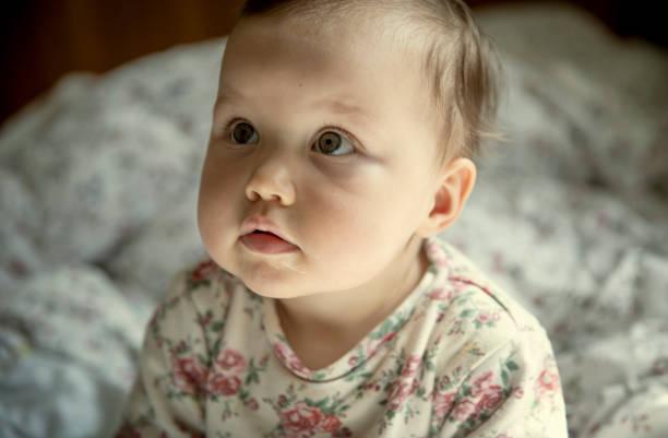 Porträt eines niedlichen Babys – Foto