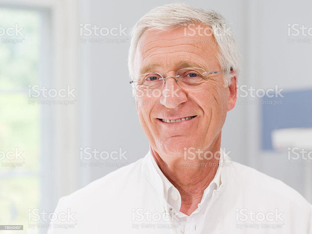 Portrait of a doctor royalty-free stock photo