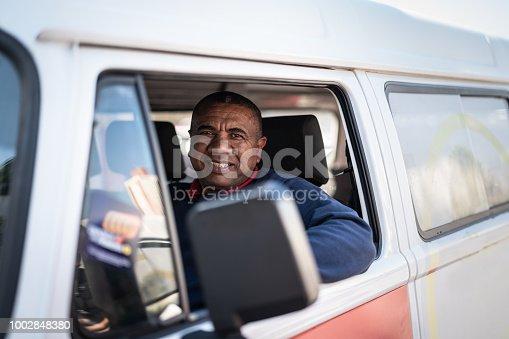 635967404 istock photo Portrait of a Driver 1002848380