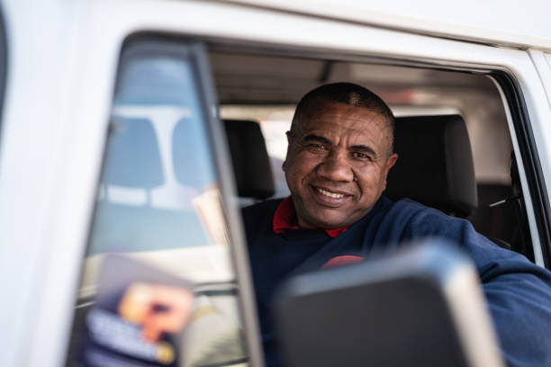 Portrait of a Driver Real people driver occupation stock pictures, royalty-free photos & images