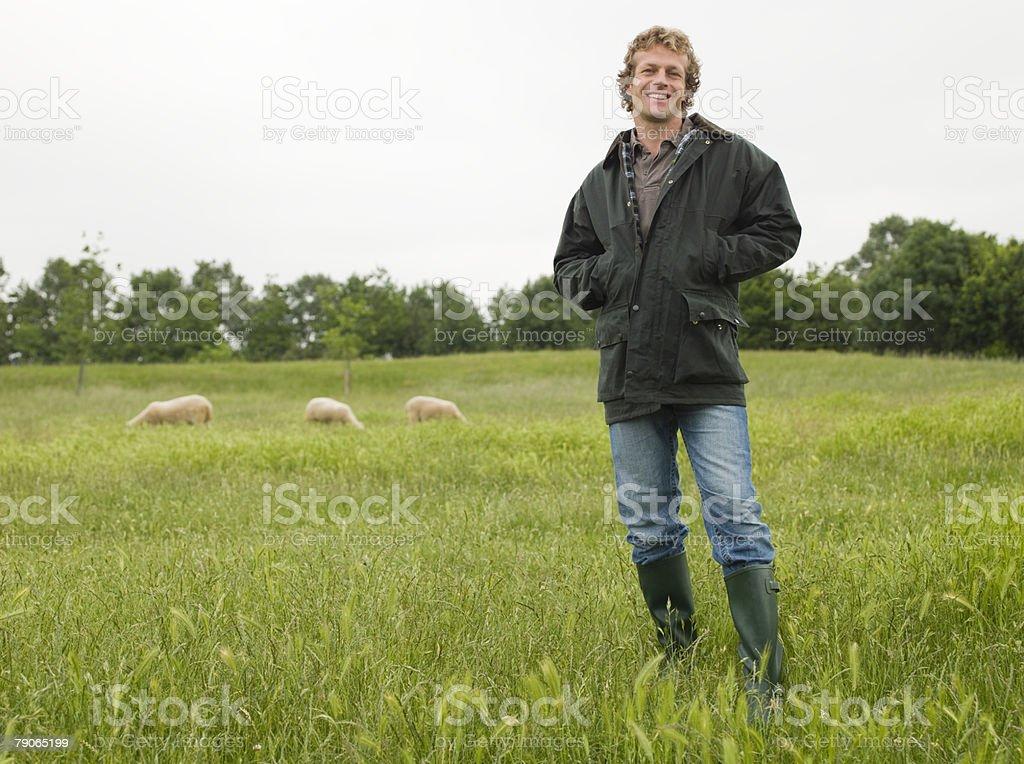 Portrait de l'agriculteur - Photo
