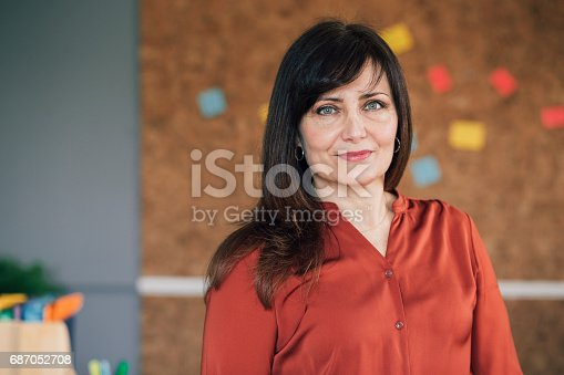 istock Portrait Of A Female Business Owner 687052708