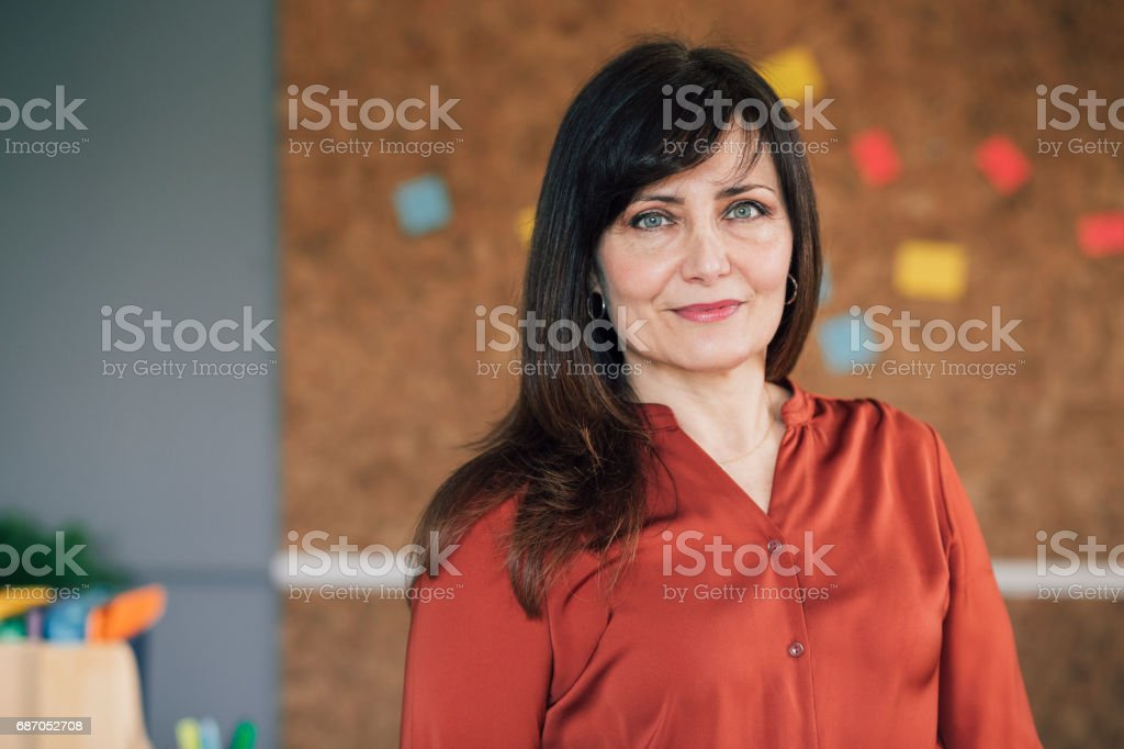 Portrait Of A Female Business Owner stock photo
