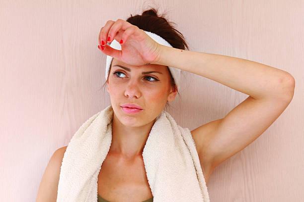 Porträt einer Fitness-Frau – Foto